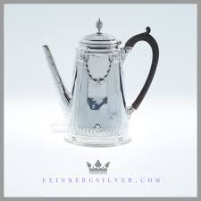 Antique Silver Coffee Pot