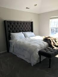 Skyline Velvet Tufted Headboard by Headboards King Size Wingback Tufted Bed Refreshing Upholstered