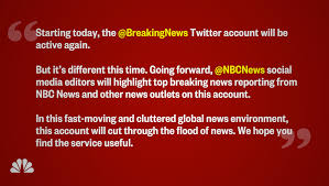 NBC News Resurrects BreakingNews Twitter Account