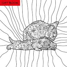 Book Coloring Pages For Adults And Children The Book Of The Cat