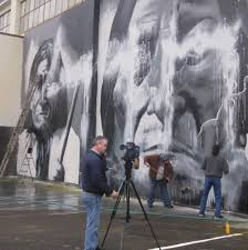 seattle s famous native american murals vandalized artist leads