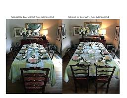 Round Table Extenders Extender Pads Dining Top Inspirational Room Extension