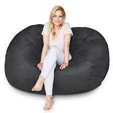 Amazon.com: Lumaland Luxury 5-Foot Bean Bag Chair With Microsuede ... 17 Best Bean Bag Chairs Of 2019 To Consider For Your Living Room Large Sofa Cover Lounger Chair Ottoman Seat Adults Design Ideas Youll Get A Hoot Out This Owl Patterned Beanbag From Christopher Great For Bbybark Home Decor Amazoncom Lumaland Luxury 5foot With Microsuede Sack Plush Ultra Soft Bags Kids With Beans Online Store Cord X Adult Natural Stone Cordaroys Convertible Theres Bed Inside Queen Fatboy Junior Outdoor