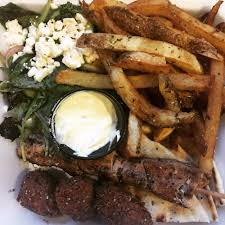 Chicken Souvlaki And Falafel Platter With Greek Salad And Oregano ... Greek Chicken Souvlaki Chicken Souvlaki The Food Truck Miso Peckhmiso Peckish Gr Salad Healthination Customers At The Food Truck Outside World Financial Uncle Gussys New York City And Ocean Grove Home Facebook Souvlakitruck Twitter Streats Perths Festival Sgr Recipe Beautiful From Land Of Gods Eat