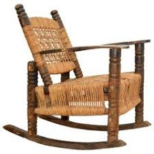 Vintage Banana Rocking Chair by 1930s Rocking Chairs 23 For Sale At 1stdibs