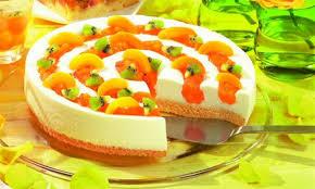 marillen kiwi torte