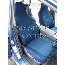 siege citroen c2 citroen c2 housse de siège bleu titane 2 sièges avants e8650