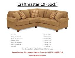 Crate And Barrel Margot Sofa Platinum by Craftmaster F9 Sectional With Sock Arm You Choose The Pieces To