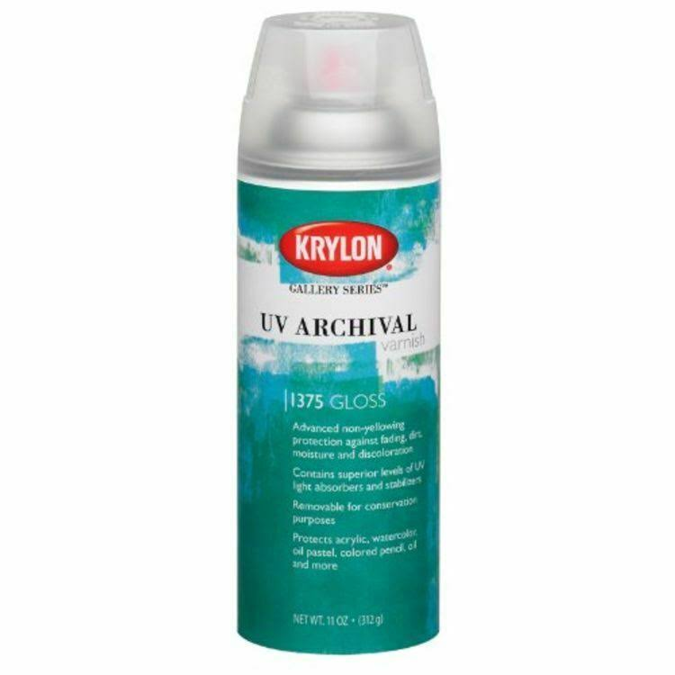 Krylon UV Archival Gloss Varnish Spray