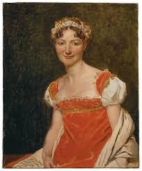 Jacques Louis David Br Portrait Of Baroness Pauline Jeanin 1812br