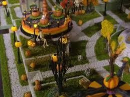 Dept 56 Halloween Village by Dept 56 Halloween Village Display Final Scream Amusement Park