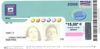 si e la banque postale le chèque emploi service universel en images services à domicile