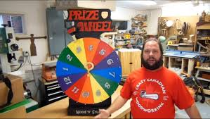 how to make a prize wheel prize spinner youtube