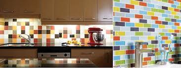 multi color backsplash tile immense 50 kitchen ideas design
