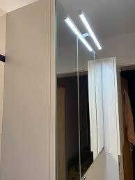 badezimmer spiegelschrank dreitürig weiß