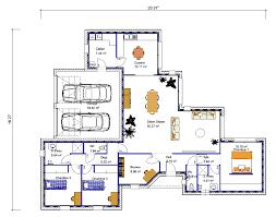 plan de maison de plain pied 3 chambres maison de plain pied en v 3 chambres crea05