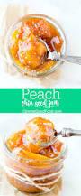 Christmas Tree Preservative Recipe Sugar by Peach Chia Seed Jam Recipe No Refined Sugar And No Pectin Needed