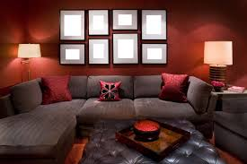 Black Grey And Red Living Room Ideas by Living Room Amzing Red Living Room Ideas Nice L Shaped Gray Faux