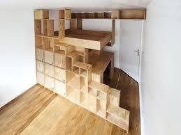 chambre en mezzanine une mezzanine sur mesure pour une chambre