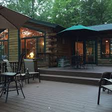 El Patio Eau Claire Happy Hour by Beautiful Cabin Surrounded By Lake Views An Vrbo
