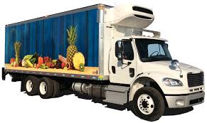 Car Commercial Vehicle Refrigerator Truck Trailer - Fresh Food ...