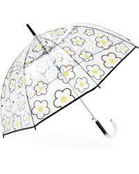 Shed Rain Umbrella Nordstrom by Shedrain Bubble Auto Stick Umbrella In Metallic Lyst