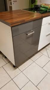 küche ikea faktum rationell unterschrank 60x60 grau hochglanz