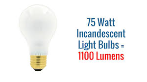75 watt light bulbs 75w incandescents and led replacements