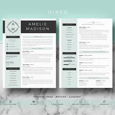 Professional & Modern Resume Template For MS Word: