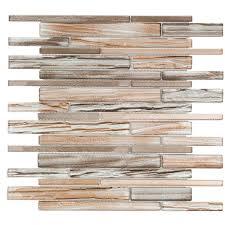 soho studio corp uptown glass railroad mosaic planks tile