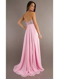 sweetheart beaded long pink chiffon prom evening formal maternity