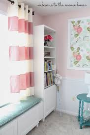 Pink Ruffled Window Curtains by Curtains Ruffle Blackout Curtains Land Of Nod Curtains Navy