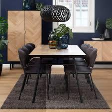 esstisch mit 6 stühlen ruvinos
