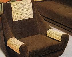 chair arm covers etsy