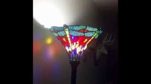 Tiffany Style Lamp Shades by Best Tiffany Floor Lamps Tiffany U0027s Dragonfly 72 Inch Torchiere