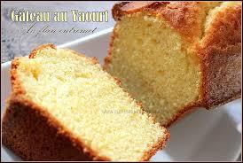 recette dessert avec yaourt gâteau au yaourt saveur vanille recettes faciles recettes