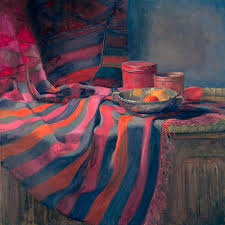 Painting Carpets by Ian Roberts Gallery Still Life Paintings
