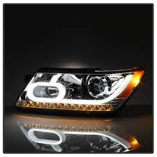 2016 dodge journey led light projector headlights chrome