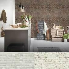 details zu vlies steintapete im landhausstil beige creme grau rot wohnzimmer