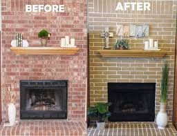 Paint Colors Living Room Red Brick Fireplace by Best 25 Stain Brick Ideas On Pinterest Stained Brick Stained