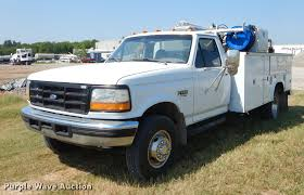 100 Service Truck With Crane For Sale 1997 D F450 Super Duty Service Truck With Crane Item EK