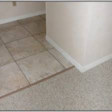 carpet to tile transition schluter tiles home decorating ideas