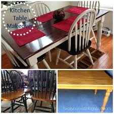 100 Repurposed Dining Table And Chairs Two It Yourself Thrifted Kitchen Makeover