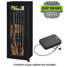 Stack On Security Cabinet 8 Gun by Stack On 14 Gun Steel Security Cabinet With Free Portable