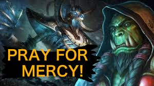 Shaman Overload Deck Loe by Hearthstone Pray For Mercy Shaman Highlight Youtube