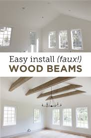 100 Beams In Ceiling Faux Wood Heights House Jenna Sue Design Blog