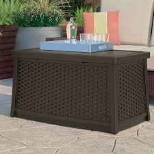 Suncast Outdoor Patio Furniture by Best 25 Deck Storage Box Ideas On Pinterest Deck Storage Pool