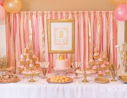 Pink White And Gold Birthday Decorations by 201 Best Emma U0027s 1st Birthday Images On Pinterest Gold First
