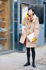 VOGUE JAPAN Fashion Features Editor Shizue Hamano At London Week 2015 2016 Fall Winter