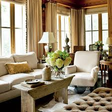A New Take On The Classic Farmhouse Rustic Living RoomsRustic RoomRustic